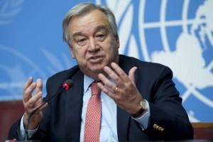 El portugués Antonio Guterres asumió el cargo de secretario general de la ONU el 1 de enero de 2017. Crédito: Jean-Marc Ferré/UN Photo.