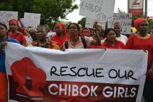 Manifestación celebrada el 30 de abril de 2014 en Abuya para reclamar al gobierno de Nigeria la liberación de las 276 escolares secuestradas por Boko Haram en la localidad de Chibok. Crédito: Mohammed Lere/IPS.