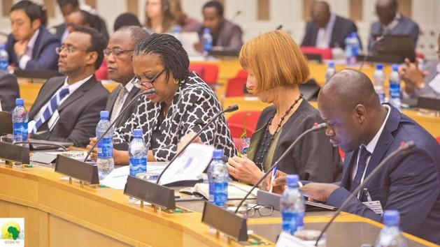 Delegados en la VI Conferencia sobre Cambio Climático y Desarrollo en África, realizada del 18 al 20 de 2016, en Adís Abeba, Etiopía. Crédito: Friday Phiri/IPS.