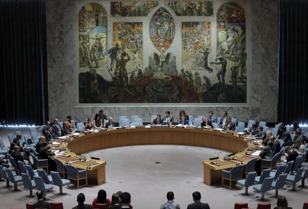 Consejo de Seguridad de la ONU. Crédito: Evan Schneide/UN Photo.