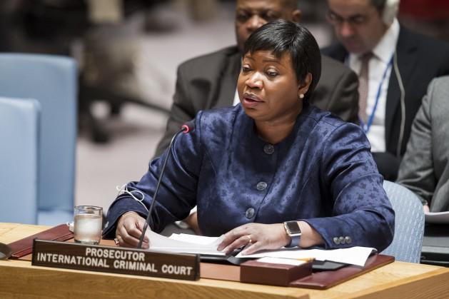 La gambiana Fatou Bensouda, es fiscal de la Corte Penal Internacional. Crédito: Manuel Elias/UN Photo.