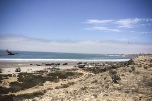 La playa de pescadores de San Juanico, en el estado de Baja California Sur, en noroeste de México. Crédito: Celia Guerrero/Pie de Página