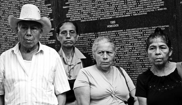 Memorial de víctimas en El Salvador. Crédito: Félix Meléndez/Pie de Página
