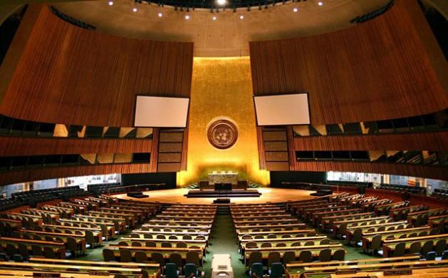Asamblea General de la Organización de las Naciones Unidas en Nueva York. Foto: Patrick Gruban.