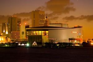 El American Airlines Arena, un emblemático estadio y centro de espectáculos de la Ciudad de Miami, y una de las muchas construcciones de Odebrecht en Estados Unidos, cuyos fiscales han comenzado a poner cifras a las dimensiones continentales de la corrupción del grupo brasileño. Crédito: Odebrecht