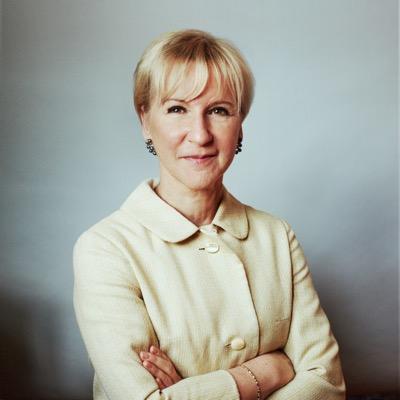 Margot Wallström, ministra de Relaciones Exteriores de Suecia. Cortesía.