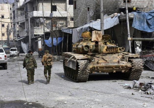 El conflicto en Siria, que comenzó en 2011, no tiene final a la vista en 2017. Crédito: UN Photo.