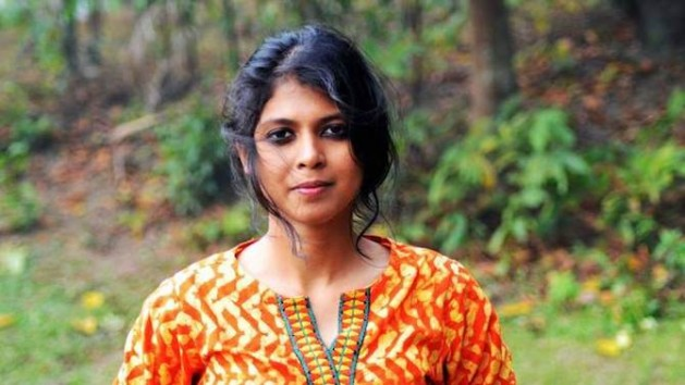 Shammi Haque, una bloguera de Daca conocida por defender la libertad de expresión y el laicismo, recibió amenazas de muerte y de violación. Crédito: Center for Inquiry