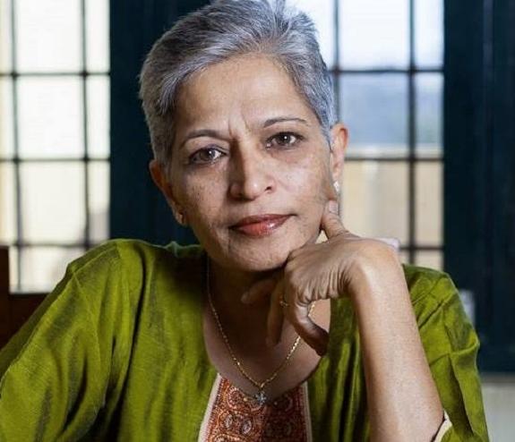 Gauri Lankesh, periodista india de 55 años asesinada el 5 de septiembre de 2017. Crédito: Wikipedia.