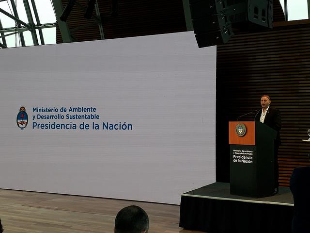 El ministro de Ambiente y Desarrollo Sustentable, rabino Sergio Bergman aseguró que Argentina quiere participar de las conversaciones sobre el Acuerdo de París.