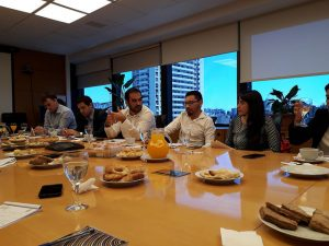 Pablo Secchi, presidente de la organización Poder Ciudadano, durante la presentación del grupo de las organizaciones de la sociedad civil que pretenderá influir sobre el Grupo de los 20 (G20). En agosto, tres meses antes de la cumbre del bloque, harán una reunión en Buenos Aires. Crédito: Daniel Gutman/IPS