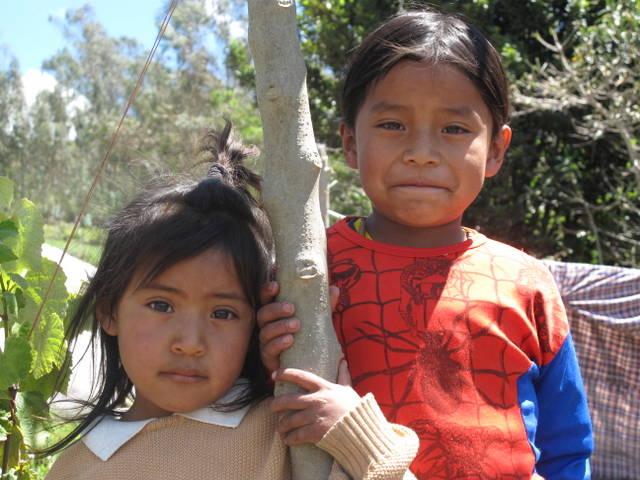 Parte importante de la población infantil latinoamericana vive entre los riesgos de la subalimentación o de la obesidad. Crédito: FAO
