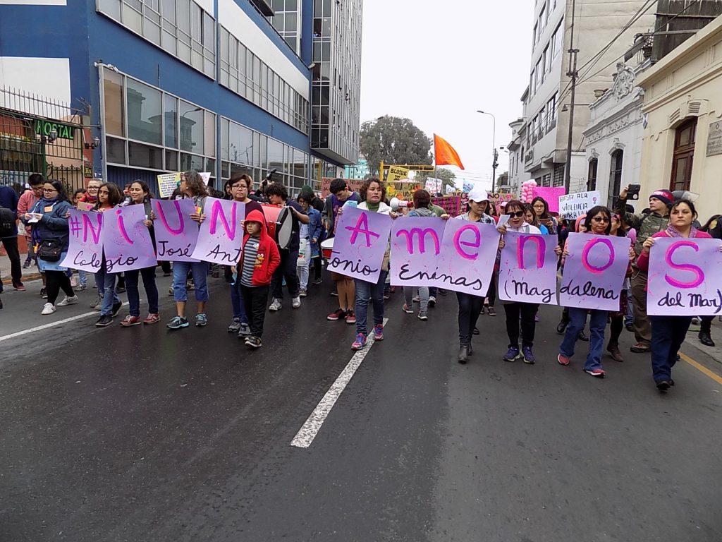 Perú terminó 2017 con 116 víctimas de feminicidios y 223 mujeres sobrevivientes de agresiones. Crédito: Cortesía Julia Vicuña.