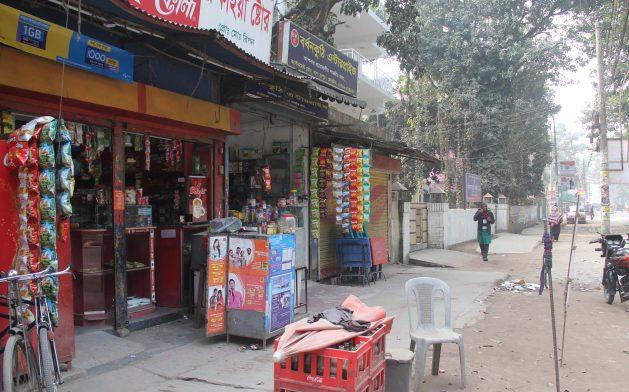 Un almacén en la norteña localidad bangladesí de Nankar. Crédito: Rafiqul Islam Sarker/IPS