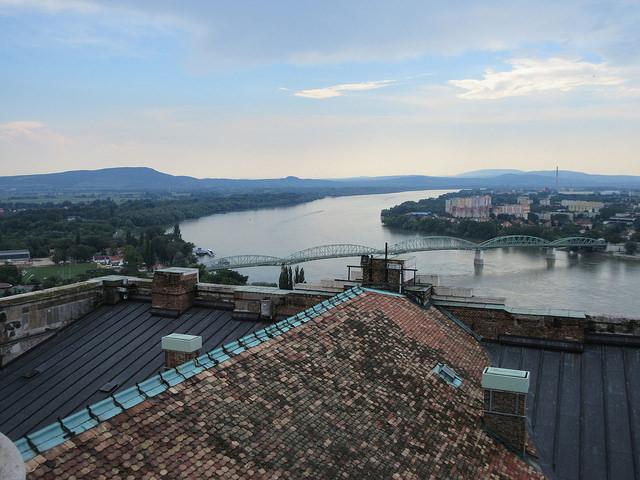 El Danubio en la frontera entre Hungría y Eslovaquia. Crédito: Ed Holt/IPS.