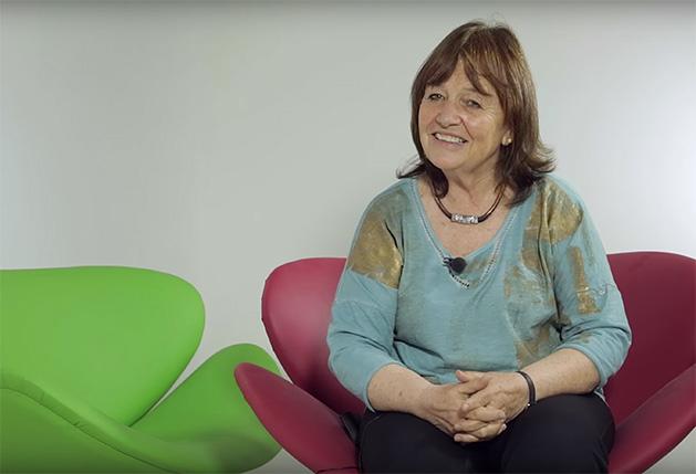 La uruguaya Carmen Beramendi, académica, política y activista por los derechos de la mujer. Crédito: Guido Ignacio Fontán/Clacso TV