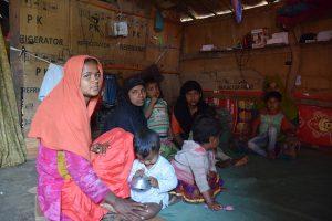 Rohinyás refugiadas en Jammu, India. Crédito: Stella Paul/IPS.