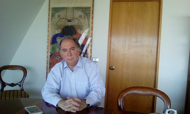 El embajador Juan Gabriel Valdes durante su entrevista con IPS. Crédito: Orlando Milesi/IPS