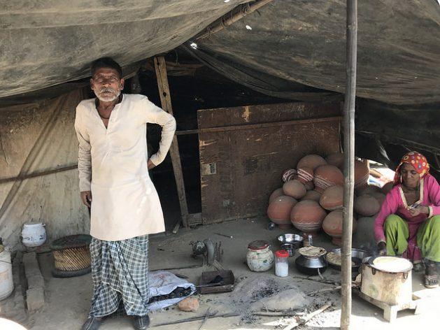 Refugiados rohinyás en India soportan discriminación y amenazas de deportación a Birmania. Crédito: Neeta Lal/IPS