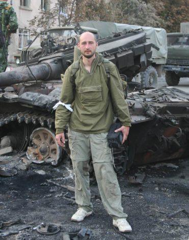 El periodista Arkady Babchenko, quien montó un simulacro de su asesinato en connivencia con el servicio de seguridad de Ucrania. Crédito: Wikimedia Commons