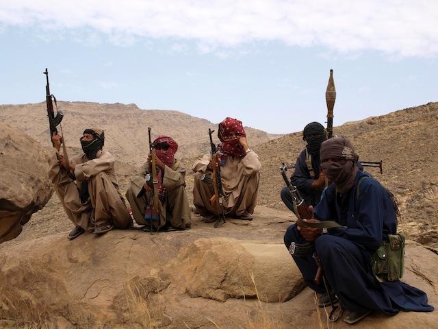 Combatientes de Baluchistán, en Pakistán. Crédito: Karlos Zurutuza/IPS.