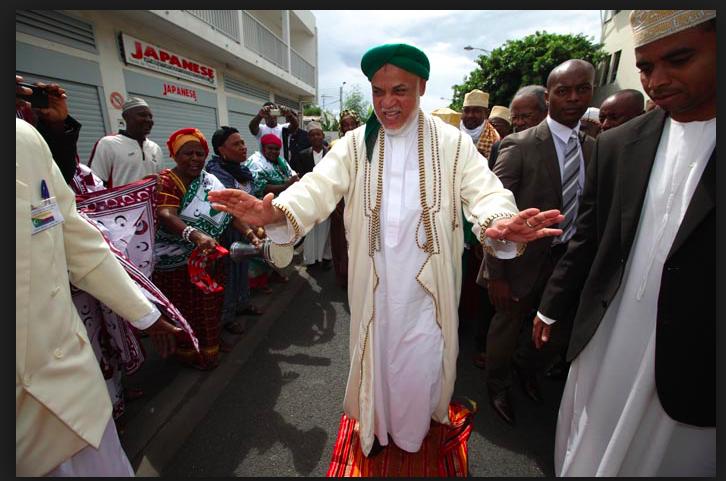 El expresidente de Comoras, Ahmed Abdallah Sambi, está bajo arresto domiciliario desde hace tres meses, acusado de corrupción y malversación de fondos públicos por el presidente Azali Assoumani. Crédito: Cortesía: Abubakar Aboud.
