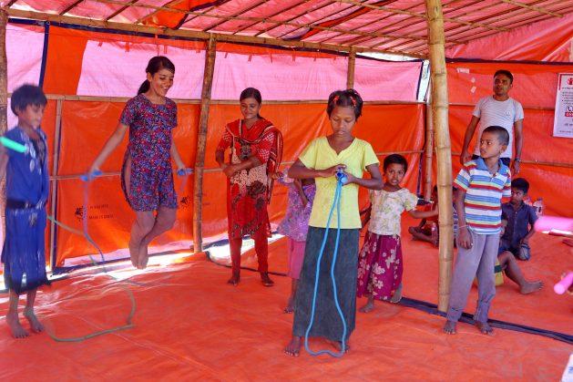 Informe de ONU condena los crímenes del ejército de Birmania contra el pueblo rohinyá, pero ser tarde ya para niñas y niños de esa comunidad musulmana de Birmania, que todavía sufren el trauma de presenciar crímenes. Crédito: Farid Ahmed/IPS