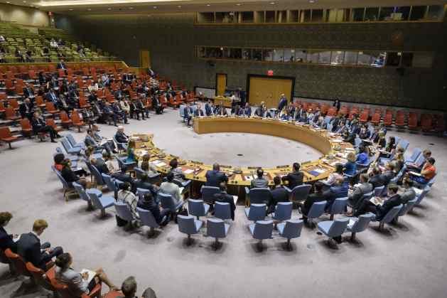 Reunión del Consejo de Seguridad sobre la situación en Yemen, el 2 de agosto de 2018. Crédito: Manuel Elias/UN Photo.