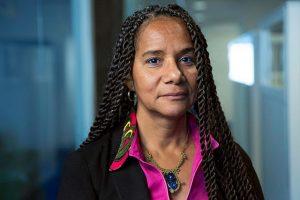 Charo Mina-Rojas, 53 años de edad, es la Coordinadora Nacional de Cabildeo del Proceso de Comunidades Negras (PCN) en Colombia. Crédito: ONU Mujeres