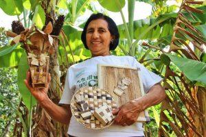 Con el proyecto, las mujeres comprendieron cómo sus prácticas pueden contribuir a disminuir el impacto en la deforestación de la caatinga. Crédito: Emanuella Castro