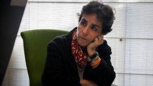 La especialista en nutrición Susana Raffalli, durante su diálogo con periodistas en la sede del portal digital El Estímulo en Caracas sobre las consecuencias de la desnutrición en Venezuela. Crédito: Valeria Pedicini/Clímax