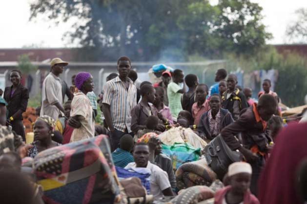 Refugiados de Sudán del Sur. Crédito: Will Swanson/UNHCR.
