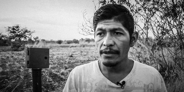El asesinado líder comunitario mexicano Samir Flores. Crédito: Ana Cristina Marcano/Pie de Página