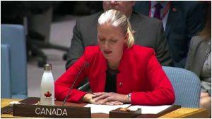 Ministra de Ambiente y Cambio Climático de Canadá, Catherine McKenna. Crédito: Cortesía.