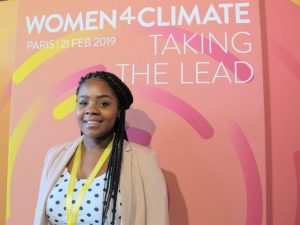 Las acciones y la participación de las mujeres ante el Acuerdo de París por el cambio climático.
