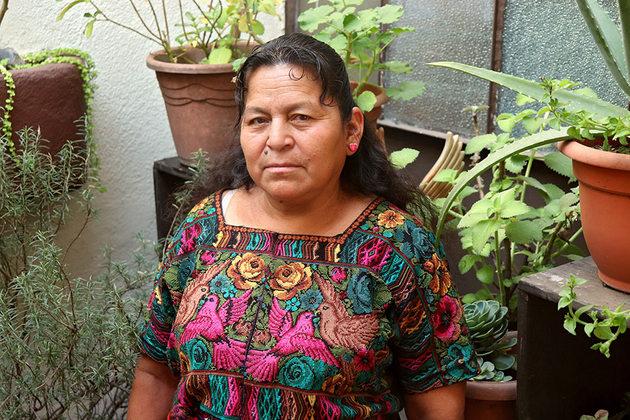 Candelaria Jax. Crédito: Carlos Rivera/ONU Mujeres