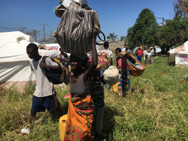 El ciclón tropical Idai, que tocó tierra en Mozambique el 14 y 15 de marzo, destruyó 90 por ciento de Beria, capital de la provincia de Sofala. Crédito: Andre Catuera/IPS.