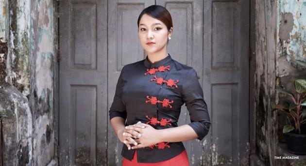 La activista rohinyá Wai Wai Un. Crédito: ACNUDH