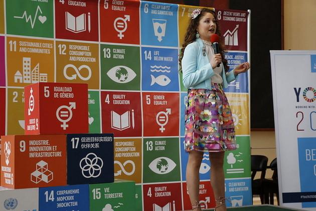 Las mujeres son parte esencial para impulsar los 17 Objetivos de Desarrollo Sostenible, además de ser el centro de uno de los ODS, el cinco, el de la igualdad de género, un tema transversal para poder avanzar en todos ellos. Crédito: ONU