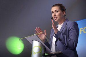 La nueva primera ministra de Dinamarca, Mette Frederiksen. Crédito: Flickr