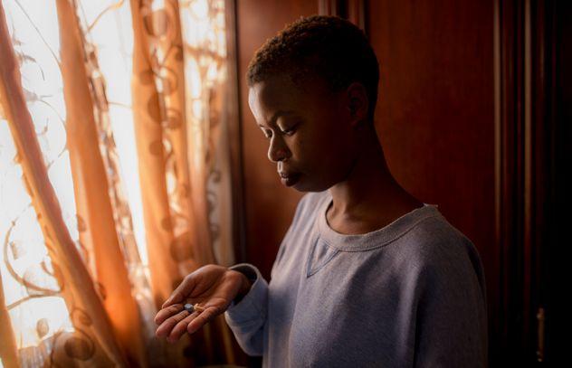 Los países del este y el sur de África, con excepción de Sudáfrica, dependen en 80 por ciento de las donaciones para la lucha contra el VIH/sida. Allí viven con el virus casi 20 millones de los casi 37 millones de personas registradas como infectadas en todo el mundo. Crédito: Onusida