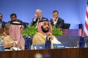 El príncipe heredero saudí, Mohammad bin Salman, muy criticado por su implicación en el asesinato del periodista Jamal Khashoggi y otras violaciones de los derechos humanos en Arabia Saudita. Crédito: Departamento de Estado de Estados Unidos