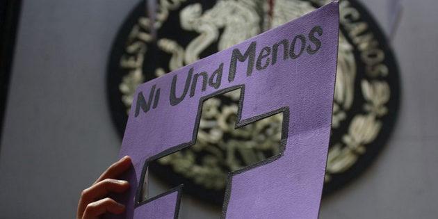 """""""Ni una menos"""", el lema de las mujeres mexicanas contra los feminicidios. Crédito: María Fernanda Ortiz/Pie de Página"""