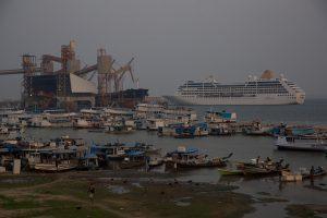Terminal portuario y logístico de la Amazonia brasileña. Crédito: Fabiana Frayssinet/IPS