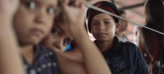 Jimmy, de 10 años, es uno de los millones de venezolanos que han dejado su país. Crédito: Santiago Arcos/Unicef