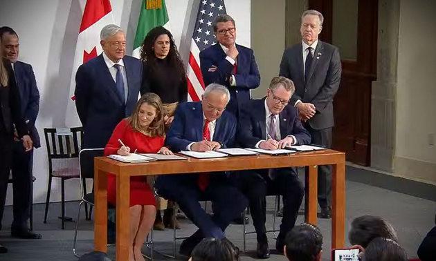 El nuevo Tratado de Libre Comercio de América del Norte (TLCAN) se aprobó sin la inclusión de criterios ambientales básicos para proteger el medio ambiente
