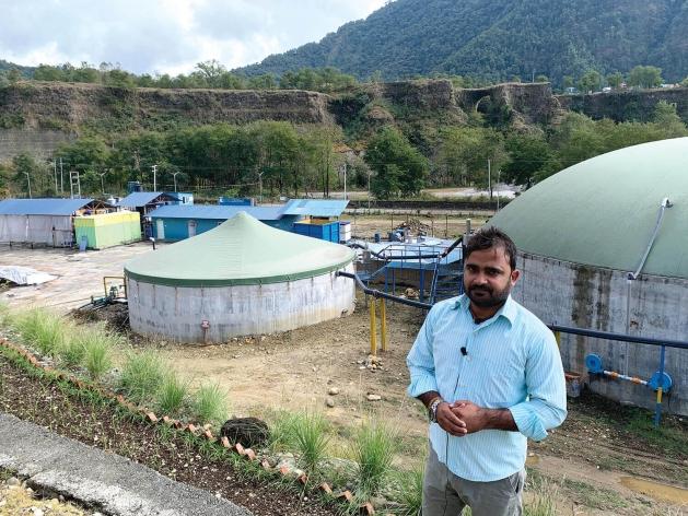 La compañía Gandaki Urja de la ciudad de Pokhara, Nepal, instaló una planta de biogás a nivel industrial, tras convencerse de que la mejor opción para el crecimiento sostenible radica en la energía proveniente de los desechos del ganado y de la agricultura