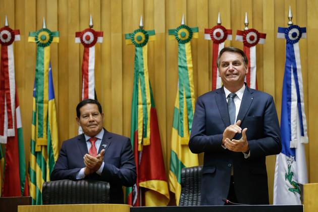 La militarización del gobierno en Brasil y la sublevación de las policías militares en algunos de los 27 estados brasileños indicarían la intención de Bolsonaro de un gobierno autocrático