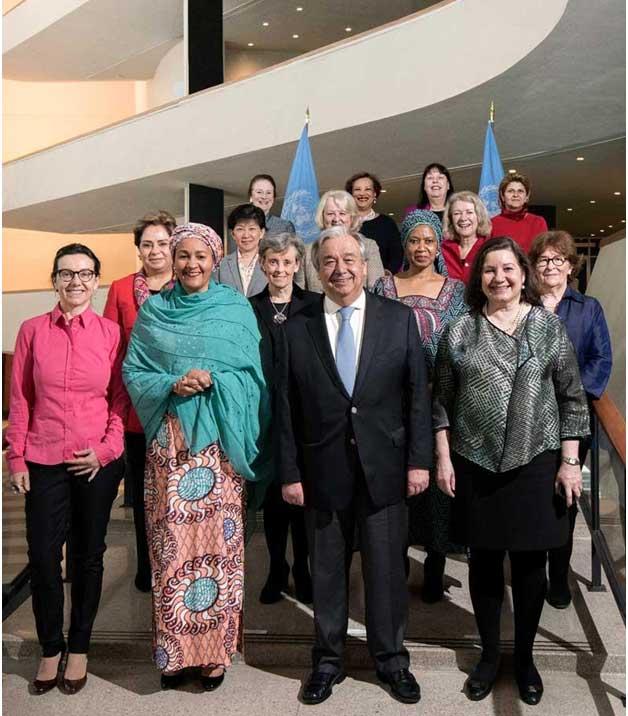 Naciones Unidas ha logrado la paridad de género en los máximos niveles de la organización, 90 y 90, y ahora busca la paridad en todos los niveles de la ONU en los próximos años