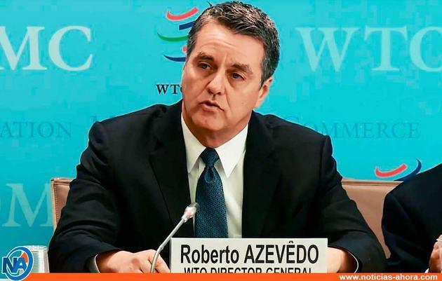 El brasileño Roberto Azevêdo, quien renunció sorpresivamente el 14 de mayo como director general de la Organización Mundial de Comercio. Foto: OMC